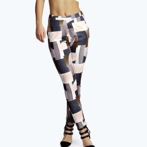 Gemma Geometric Print Tapered Trousers